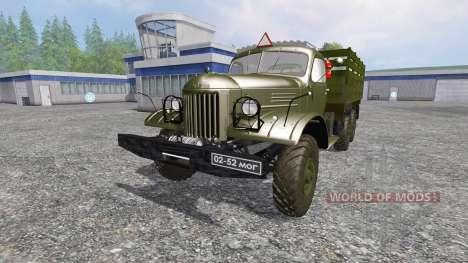 ZIL-157 [GKB-817] v4.0 for Farming Simulator 2015