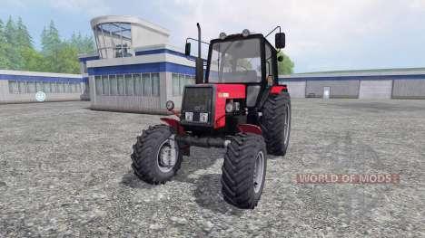 MTZ-Belarus 1025 v1.0 for Farming Simulator 2015