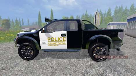 Ford F-150 Raptor Police for Farming Simulator 2015