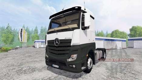 Mercedes-Benz Actros MP4 for Farming Simulator 2015
