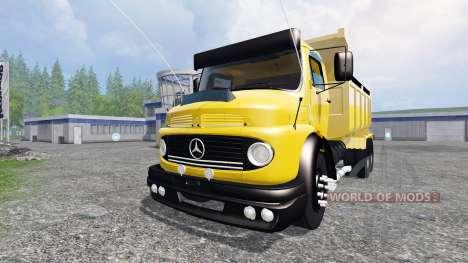 Mercedes-Benz 1513 [dump] for Farming Simulator 2015