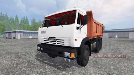 KamAZ-55111 2007 v1.0 for Farming Simulator 2015