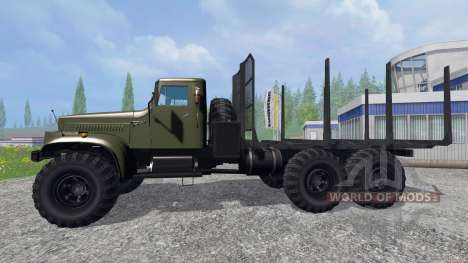 KrAZ-255 B1 [timber] for Farming Simulator 2015