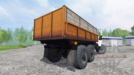 GAZ-3309 6x6 for Farming Simulator 2015
