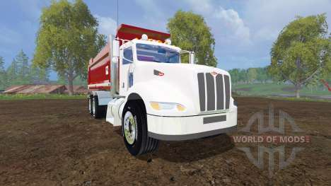 Peterbilt 384 [dump] for Farming Simulator 2015