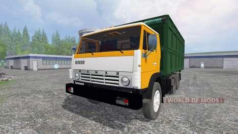KamAZ-55102 for Farming Simulator 2015