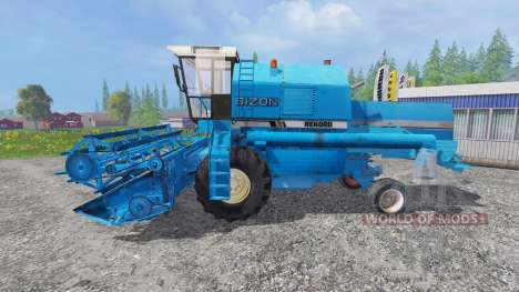 Bizon Z058 [record blue] for Farming Simulator 2015