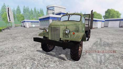 ZIL-157 [timber] for Farming Simulator 2015