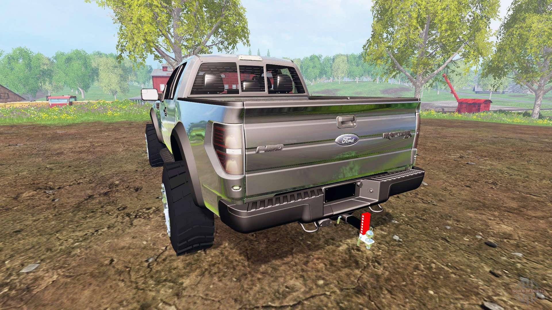 Ford f 150 raptor for farming simulator 2015