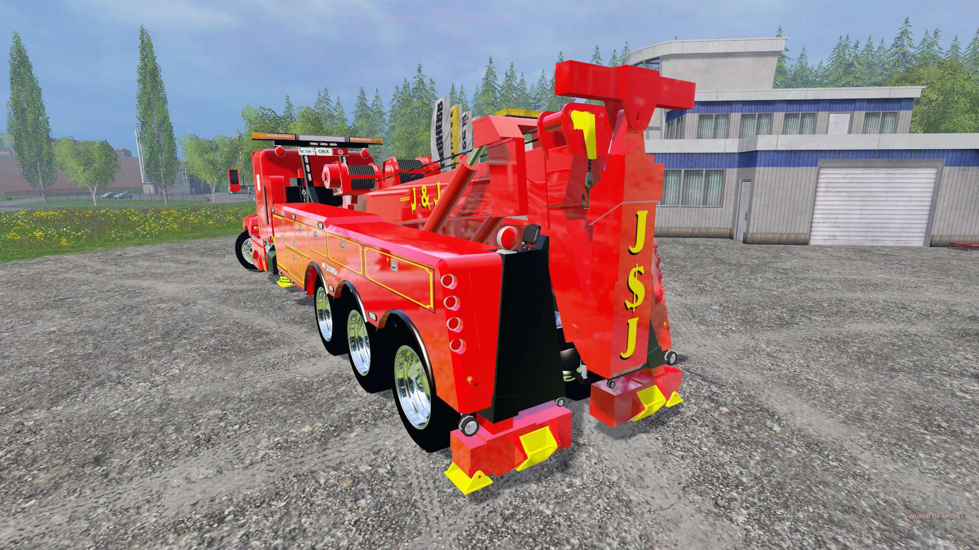 Kenworth T600b Tow Truck For Farming Simulator 2015 Fire Wiring Diagram Free Picture Schematic