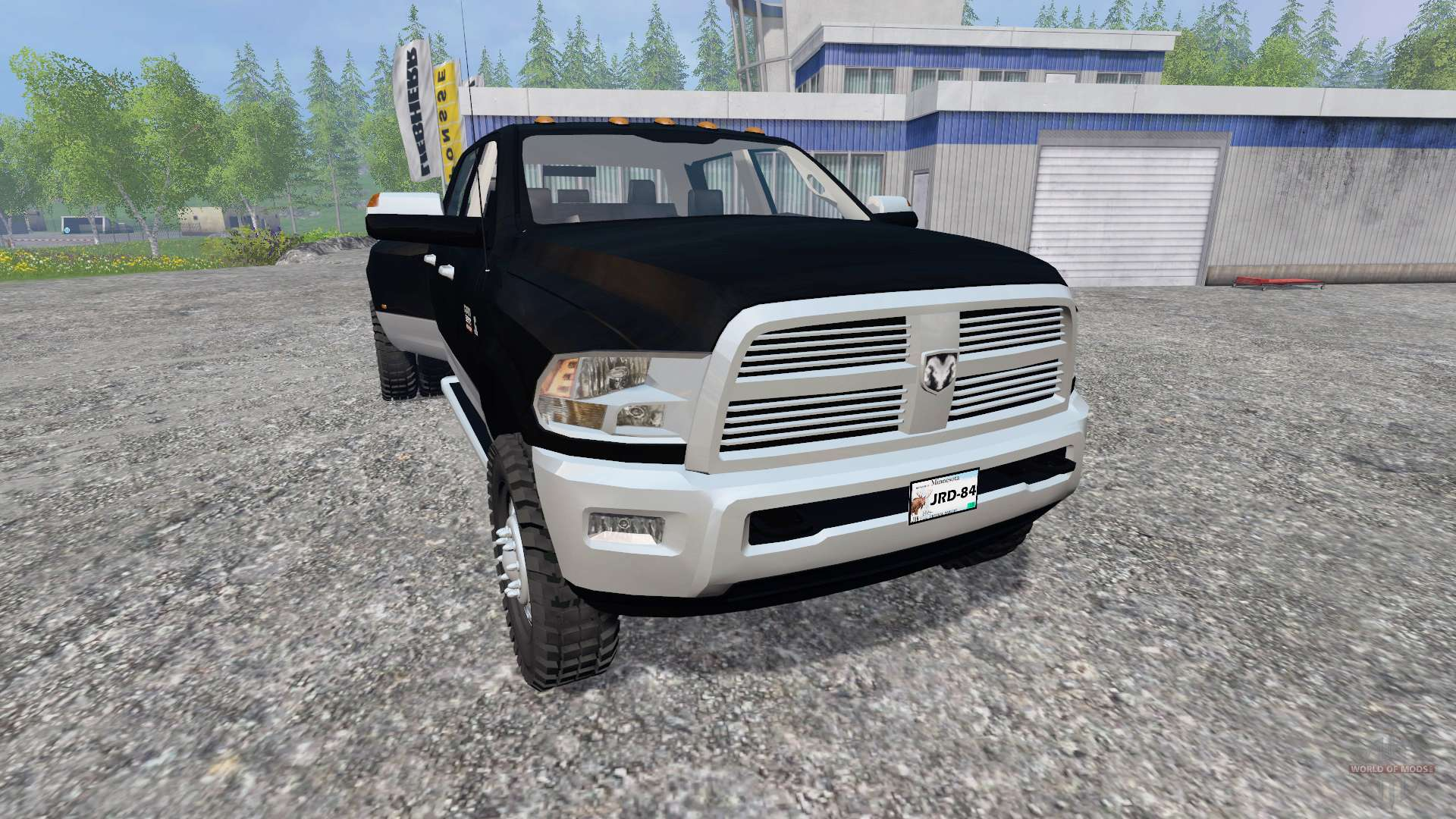 dodge ram 3500 v10 for farming simulator 2015 - Dodge 2015 Truck 3500