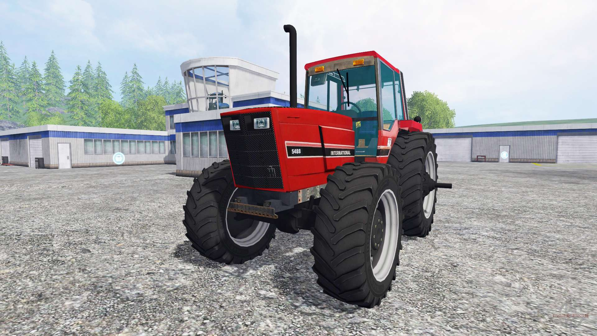 Case Ih 5488 For Farming Simulator 2015