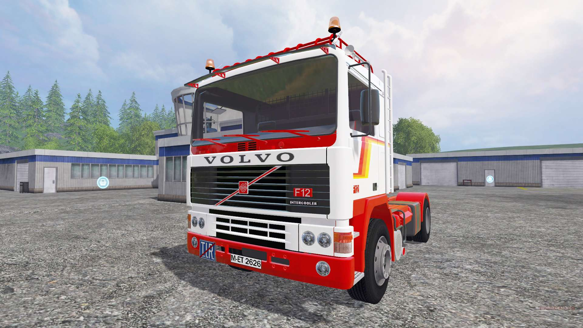 Volvo F12 [trailer] for Farming Simulator 2015