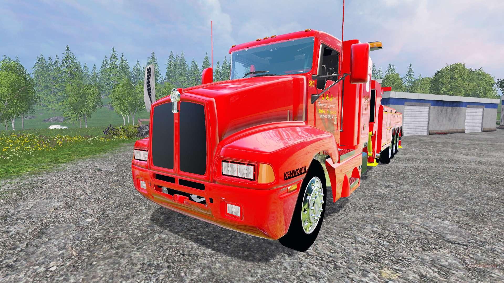 Kenworth T600b Tow Truck For Farming Simulator 2015 1951 Ford