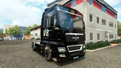 V8 skin for MAN trucks for Euro Truck Simulator 2