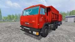 The KamAZ-65115 [NefAZ 8560]