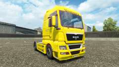 Waberers skin for MAN trucks for Euro Truck Simulator 2