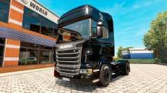 BlackBerry skin for Scania truck for Euro Truck Simulator 2