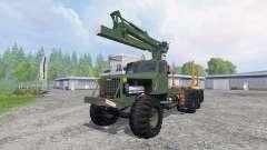 KrAZ-255 B1 [timber] v2.5