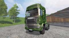 Scania R730 [euro farm] v1.2 for Farming Simulator 2015