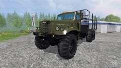 KrAZ-255 B1 [timber]