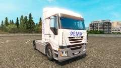 Pema skin for Iveco truck for Euro Truck Simulator 2