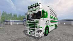 Scania R730 [cattle] for Farming Simulator 2015
