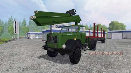 Magirus-Deutz 200D26 1964 [forest] for Farming Simulator 2015