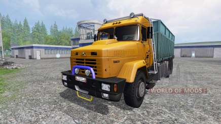 KrAZ-64431 [dump truck] for Farming Simulator 2015