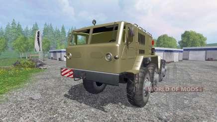 MAZ-537 for Farming Simulator 2015