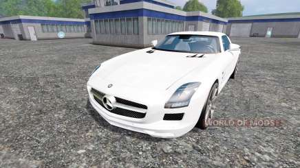 Mercedes-Benz SLS AMG for Farming Simulator 2015