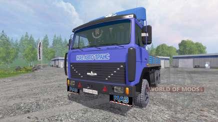 MAZ-4370 [pack] for Farming Simulator 2015