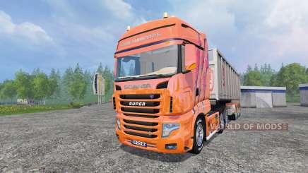 Scania R700 [Cedric Transports] for Farming Simulator 2015