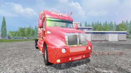 Kenworth T2000 [Coca-Cola Christmas] for Farming Simulator 2015