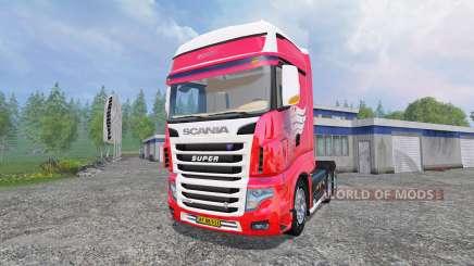 Scania R700 for Farming Simulator 2015