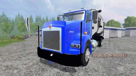 Kenworth T800 [feed truck] for Farming Simulator 2015