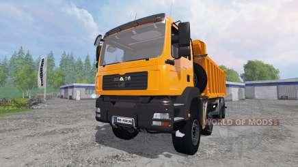 MAN TGA 8x8 [tipper] for Farming Simulator 2015