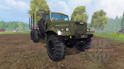KrAZ-255 B1 [timber] v2.0 for Farming Simulator 2015