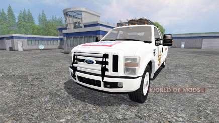Ford F-350 [Budweiser] for Farming Simulator 2015