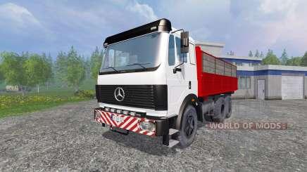 Mercedes-Benz 2435 [tipper] v0.2.5b for Farming Simulator 2015