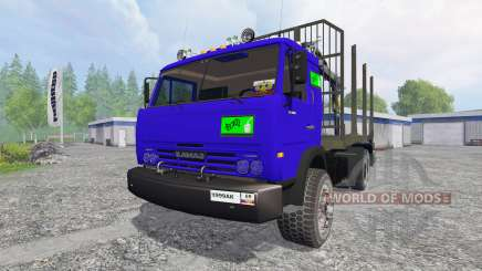 KamAZ-54115 [the truck] v1.0 for Farming Simulator 2015