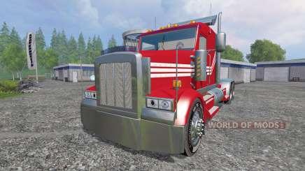 Kenworth W900 v2.0 for Farming Simulator 2015