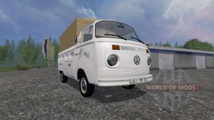 Volkswagen Transporter T2B 1972 [trailer] for Farming Simulator 2015
