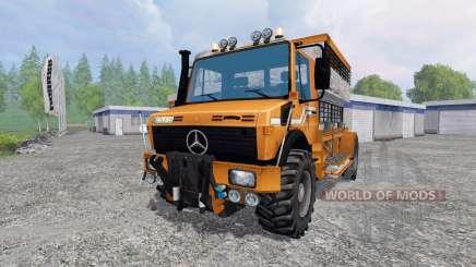 Mercedes-Benz Unimog [spezial vieh] for Farming Simulator 2015