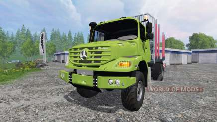 Mercedes-Benz Zetros 1833 [forest] v2.0 for Farming Simulator 2015