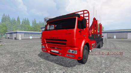 KamAZ-65117 [timber] for Farming Simulator 2015