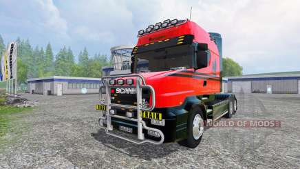Scania T164 [long line] for Farming Simulator 2015