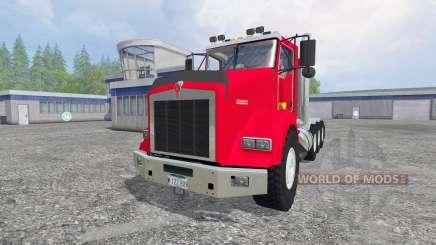Kenworth T800 v2.0 for Farming Simulator 2015
