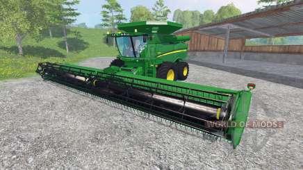 John Deere S 690i [washable] for Farming Simulator 2015