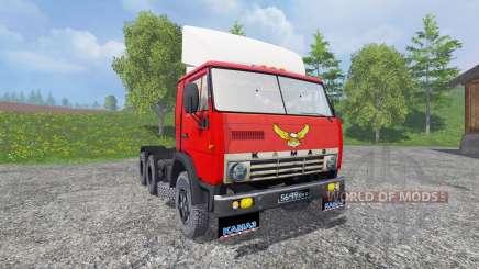 KamAZ 5410 v1.2 for Farming Simulator 2015